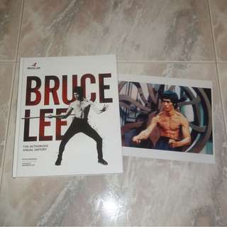 Bruce Lee Book & Photo Authorized Visual History Enter The Dragon Steve Kerridge Shannon Lee