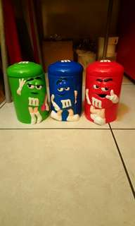 M&M's陶瓷罐/儲物罐(特價)