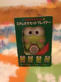 大🈹️🈹️中古1990年份青蛙卡式播音機