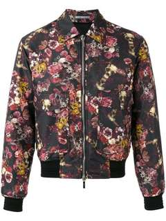 DIOR  彩色花卉骷髅印花男士夹克 尺码:44 46 50