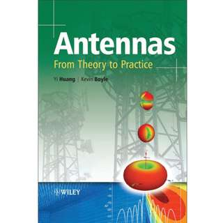 Antennas: From Theory to Practice (379 Page Mega eBook)