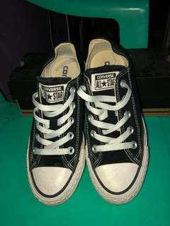 Authentic Black Converse for Women