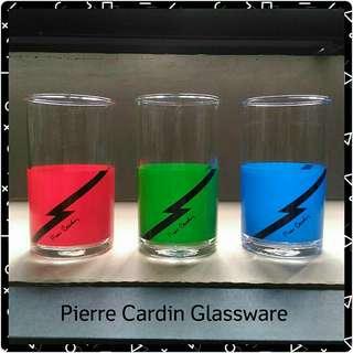 Pierre Cardin Classic RGB Tumbler Glasses (Set of 3)