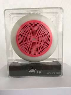 🚚 Bluetooth Wireless Portable Speaker.  Cute and Sweet Design. Got it as a free gift.