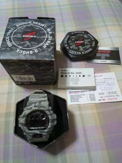 G-Shock winter camouflage