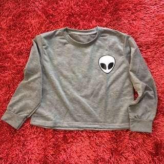 alien crop top