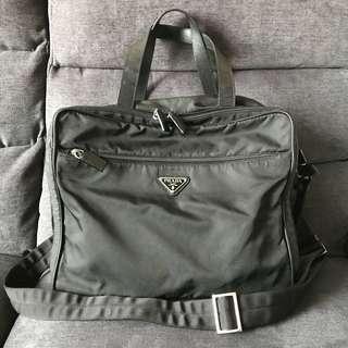 🚚 Prada Laptop / Document Sling Bag