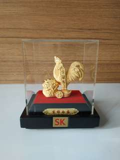 Sk Jewellery Rooster 吉祥如意