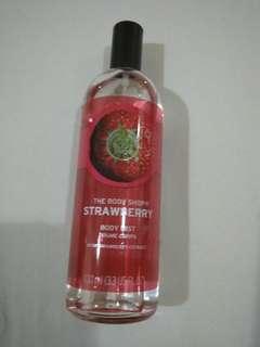 Body Mist The Body Shop Strawberry