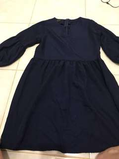 dress elya navy