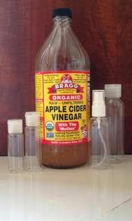 Toner cuka apel bragg