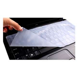 """Laptop Keyboard Silicon Protector/Cover [Size:13''~14'', 15''~17""""]"""