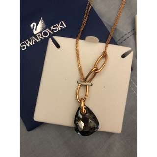 Swarovski Crysini Rose Gold Necklace