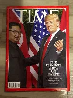TIME Magazine June 25 2018 collectors copy