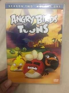 Preloved Original Angry Birds Toons DVD
