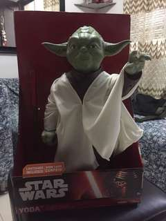 "Star Wars Jakks Pacific Big-Figs 18"" (31"" scale) Yoda"
