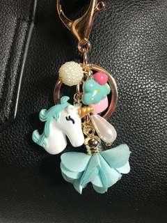 🚚 Unicorn Cupcake Dreams BagCharm