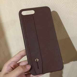 leather case iphone 7 plus / 8 plus