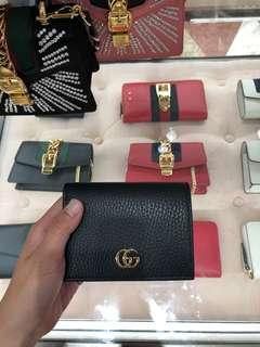 Gucci GG短銀包