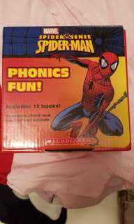 Spiderman readers set