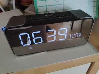 電子鬧鐘收音機時鐘