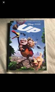 Preloved Original Disney Pixar Up DVD