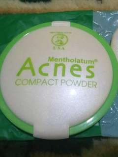 Acnes compact powder natural beige