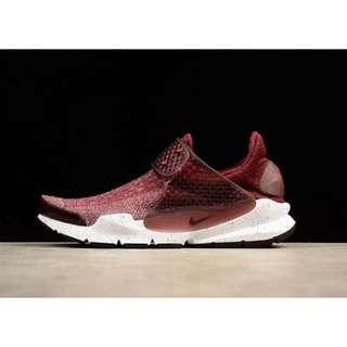 Nike Sock Dart SE 酒紅 編織 859553-600 女