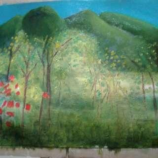 Original Oil On Canvas. Painting