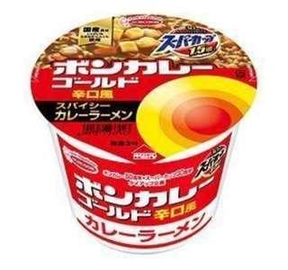 日本 1.5倍咖哩黃金咖哩拉麵