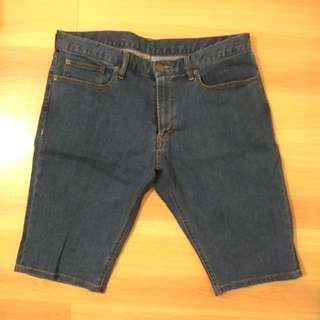 Muji Men's Denim Shorts