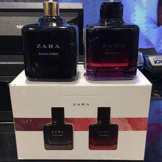 1 PCS / 1 BTL ZARA Black Amber Parfume Original 1000000%