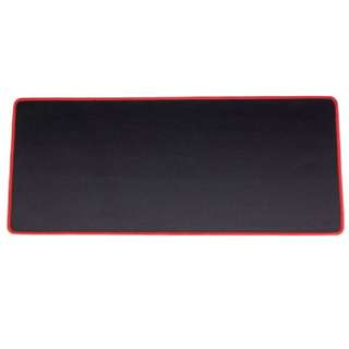 Plain Black Mousepad (M/L Size)