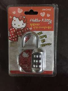 Hello Kitty lock 🔒鎖 ( no bargaining)
