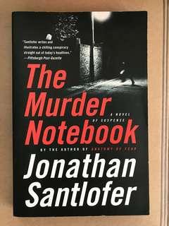 The Murder Notebook by Jonathan Santofler