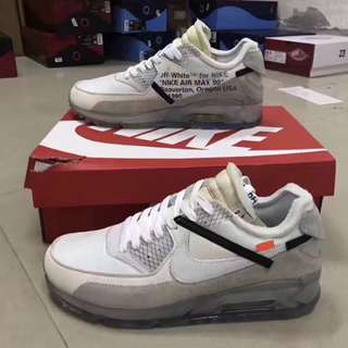 Nike Max90 x OFF White 聯名 IN SIZE 出品 男女