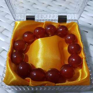 🚚 红玛瑙 [Red Agate] + 手链 [Bracelet] + 盒