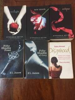 Books bundle- charity sale