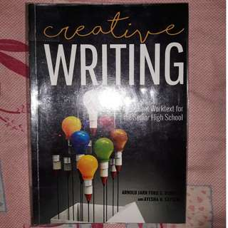 Creative Writing Textbook for SHS