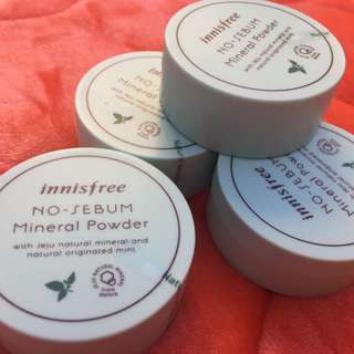 INNISFREE No sebum mineral powder Authentic