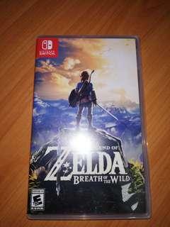 the Legand of Zelda breath of the wild