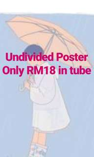 Poster Undivided Wanna One Album