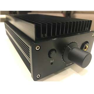 Class A Integrated and Headphone Amplifier