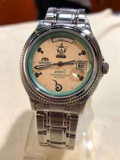 泰有趣 超特別 Orient 東方 全泰文 泰國限量版 自動錶 男女可戴 有盒