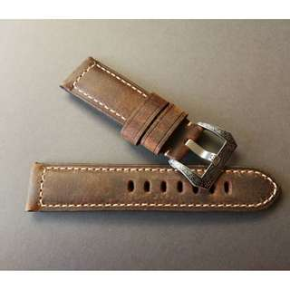 PANERAI Hand Made Mocha Color Watch Strap