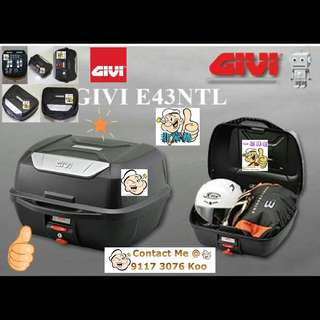 3006---GIVI BOX E43 NTL Mulebox For Sale !!!Brand New (YAMAHA, Honda, SUZUKI, ETC)