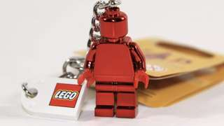 VIP Executive Lego Keychain Minifigure