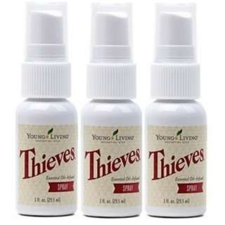 🚚 Young Living Thieves Spray 29.5ml