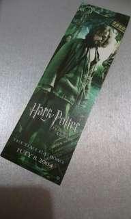 📣包郵📮~2004 Harry Potter and the Prisoner of Azkaban書籤