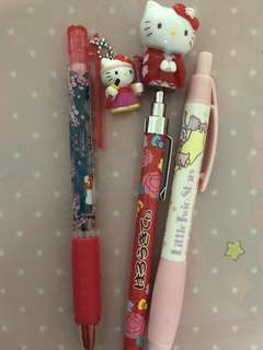 Hello kitty & little twin stars mechanical pencil